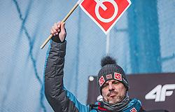 29.12.2018, Schattenbergschanze, Oberstdorf, GER, FIS Weltcup Skisprung, Vierschanzentournee, Oberstdorf, Qualifikation, im Bild Cheftrainer Alexander Stöckl (NOR) // Headcoach Alexander Stöckl (NOR) during his Qualification Jump for the Four Hills Tournament of FIS Ski Jumping World Cup at the Schattenbergschanze in Oberstdorf, Germany on 2018/12/29. EXPA Pictures © 2018, PhotoCredit: EXPA/ Stefanie Oberhauser