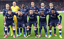 November 2, 2017 - London, England, United Kingdom - Red Star Belgrade (Crvena Zvezda) Team Shoot.during UEFA Europa League Group H match between Arsenal and Red Star Belgrade (Crvena Zvezda) at The Emirates , London 2 Nov 2017  (Credit Image: © Kieran Galvin/NurPhoto via ZUMA Press)