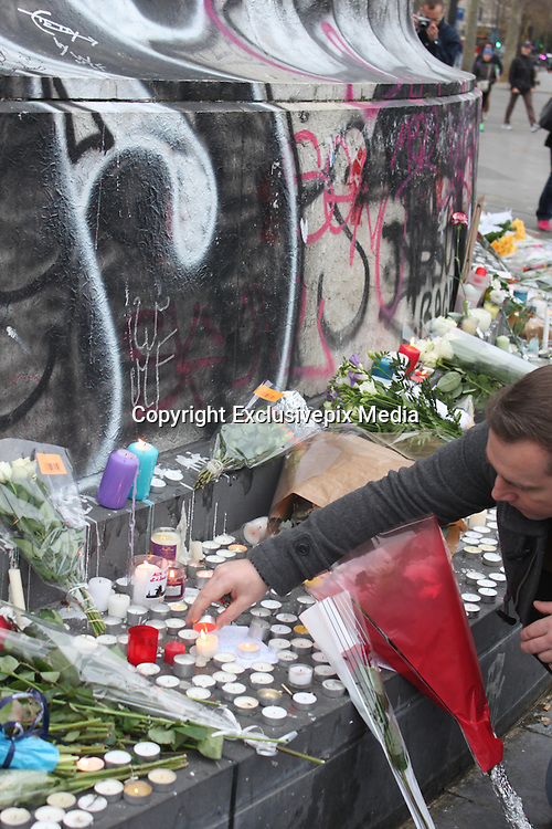 THE AFTERMATH OF ATTACKS IN PARIS<br /> ©Exclusivepix Media