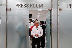 Motorsports / Formula 1: World Championship 2010, GP of Korea, Bernie Ecclestone, press room