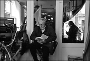 "William Goldman, on the set of ""Ghost Town"" (Dir: David Koepp, 2008)"