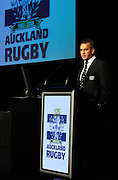 Departing Auckland coach Shane Howarth.<br />Auckland Rugby Awards Evening, Sky City Convention Centre, Auckland, Friday 31 October 2008. Photo: Renee McKay/PHOTOSPORT