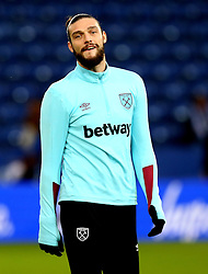 Andy Carroll of West Ham United - Mandatory by-line: Robbie Stephenson/JMP - 31/12/2016 - FOOTBALL - King Power Stadium - Leicester, England - Leicester City v West Ham United - Premier League