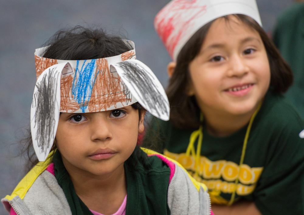 "Jason and Maris Castro read ""Bunny Cakes"" to students at Fonwood ECC, October 21, 2014."