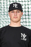 Jacob Curry.<br /> New Zealand Diamond Blacks Baseball Team headshots.<br /> Llloyd Elsmore Park, Pakuranga, Auckland, New Zealand. 4 February 2016.<br /> Copyright photo: Andrew Cornaga / www.photosport.nz