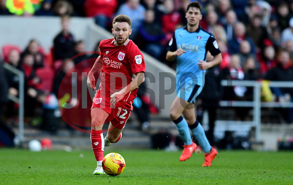 Matty Taylor of Bristol City  - Mandatory by-line: Joe Meredith/JMP - 04/02/2017 - FOOTBALL - Ashton Gate - Bristol, England - Bristol City v Rotherham United - Sky Bet Championship