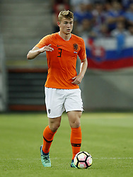 Matthijs de Ligt of Holland during  the International friendly match between Slovakia and The Netherlands at Stadium Antona Malatinskeho on May 31, 2018 in Trnava, Slovakia