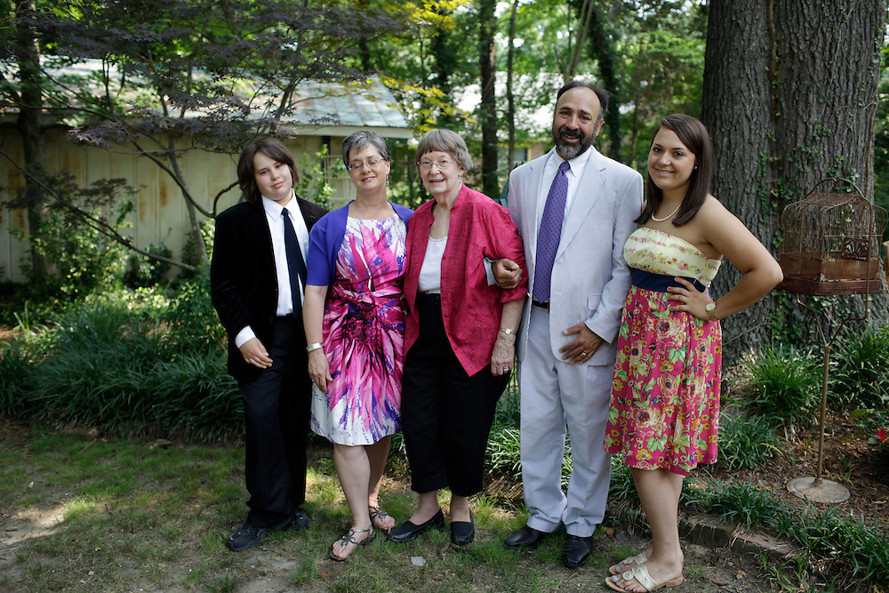 The Hart Family, Durham, N.C., JUne 9, 2011.