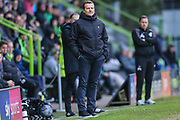 Forest Green Rovers head coach, Mark Cooper during the EFL Sky Bet League 2 match between Forest Green Rovers and Scunthorpe United at the New Lawn, Forest Green, United Kingdom on 7 December 2019.