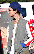 MADRID, SPAIN, 2016 JULY 12 <br /> <br /> Ruby Rose, one of the Dj's fashion of the moment, has again chosen the island of Ibiza as a holiday stay to enjoy a few days of sun and beach. Last year already chosen this destination, during your visit to our country to tap on the island with Avicii and Zedd, the former boyfriend of Selena Gomez, last August 2. Joining the Orange Is the New Black series placed in the spotlight. Ruby, again surprised with her tattoos and an unmistakable style with skinny jeans, oversize shirt and sports boots, which combined with a military jacket, blue cap and vintage sunglasses. She camed with a friend, they enjoyed a lively chat on arrival at the hotel. The famous Dj enjoyed admiring the beautiful landscape before entering inside the hotel to rest<br /> ©Exclusivepix Media