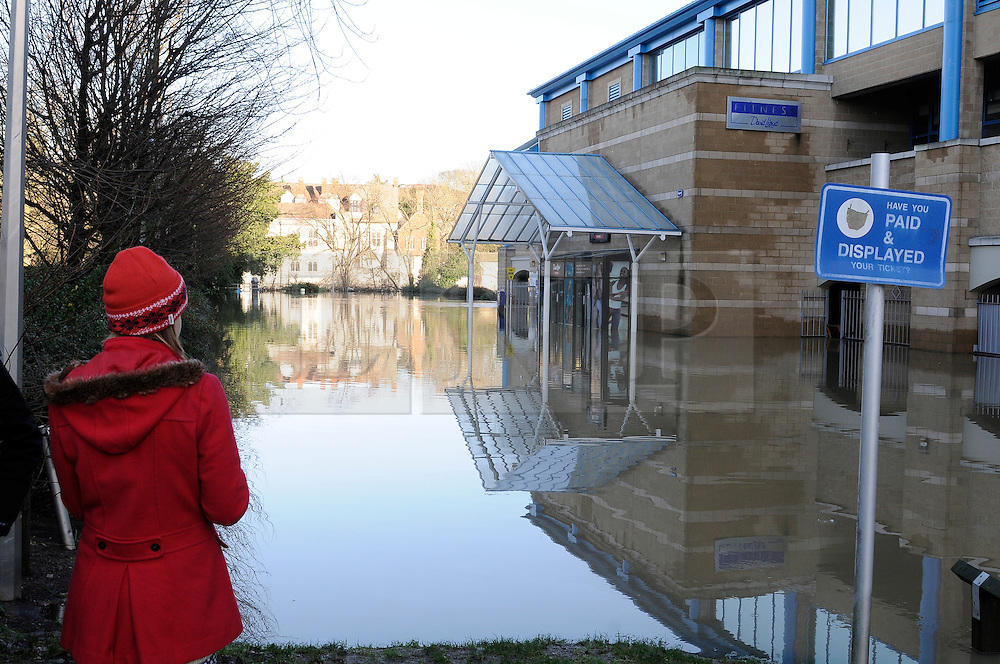 © Licensed to London News Pictures. 26/12/2013<br />  David Lloyds entrance Lockmeadow,Maidstone is flooded.<br /> Maidstone Town Centre,Maidstone,Kent is flooded due to the <br />  river Medway Bursting its banks.<br /> Boxing day flooding in Kent.<br /> Large parts of Kent are still flooded due to heavy rain with more bad weather expected.<br /> Photo credit :Grant Falvey/LNP