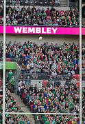 Wembley, Great Britain,    during the Pool D Game, Ireland vs Romania.  2015 Rugby World Cup, Venue, Wembley Stadium, London, ENGLAND.  Sunday  27/09/2015 <br /> <br /> Mandatory Credit; Peter Spurrier/Intersport-images]