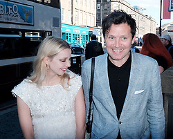 Edinburgh International Film Festival 2019<br /> <br /> Hurt By Paradise (World Premiere)<br /> <br /> Stars and guests arrive on the red carpet for the world premiere<br /> <br /> Pictured:  Director Greta Bellamacina and Robert Montgomery<br /> <br /> Alex Todd | Edinburgh Elite media
