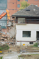 Demolishing a house&#xA;<br />