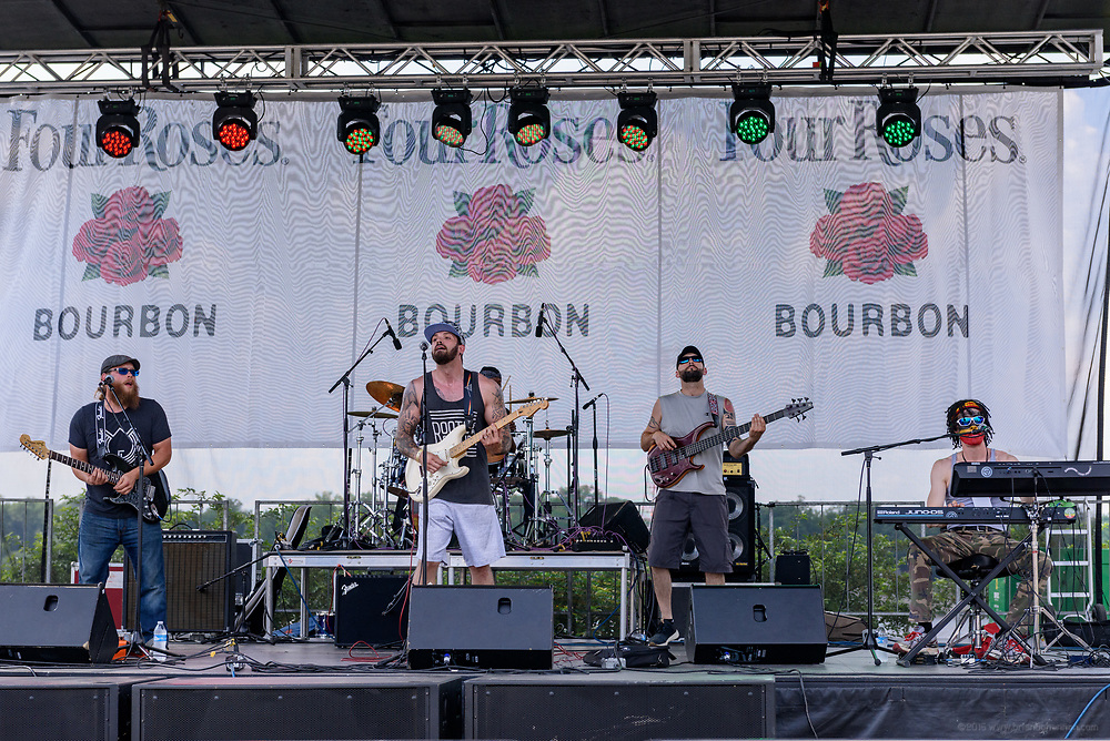Saturday at the Kentucky Reggae Festival sponsored by Four Roses Bourbon at Louisville Water Tower Park on River Road. May 26, 2018