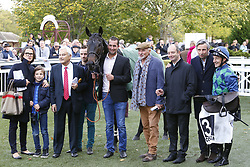 October 28, 2017 - Compiegne, France, France - Course 5 - Paulougas - Jacques Ricou - Dominique Bressou - Famille Papot (Credit Image: © Panoramic via ZUMA Press)