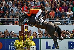 Vrieling Jur, NED, VDL Glasgow v Merelsnest<br /> Longines FEI Jumping Nations Cup de France<br /> La Baule 2018<br /> © Hippo Foto - Dirk Caremans<br /> 20/05/2018
