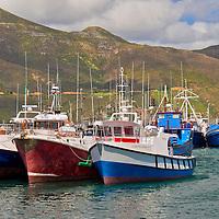 Alberto Carrera, Fishing Boats, Kalkbaai, Kalk Bay Harbour, False Bay, Cape Town, Western Cape, South Africa, Africa