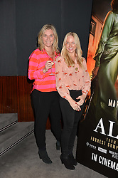 Left to right, TABITHA WEBB and ROSIE NIXON Left to right, TABITHA WEBB and ROSIE NIXON at a screening of Paramount Pictures 'Allied' hosted by Rosie Nixon of Hello! Magazine at The Bulgari Hotel, 171 Knightsbridge, London on 23rd November 2016.