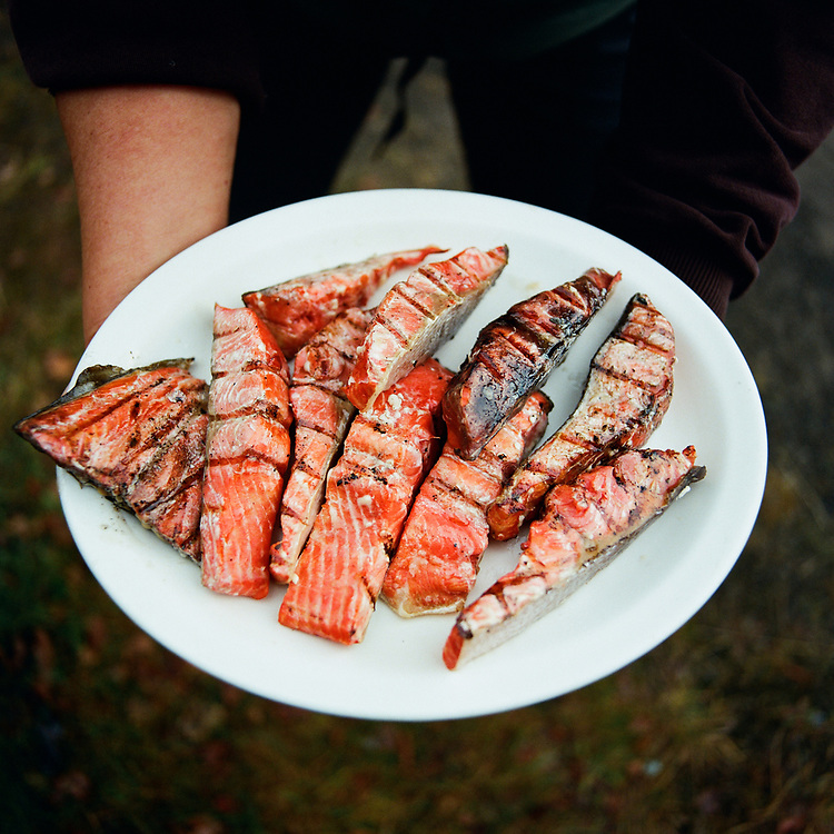 Dillingham, Alaska<br /> Oct. 26, 2017<br /> <br /> Sockeye, or &quot;red&quot; salmon from Bristol Bay is commercially valuable around the world and a mainstay for people who live in the Bristol Bay region.