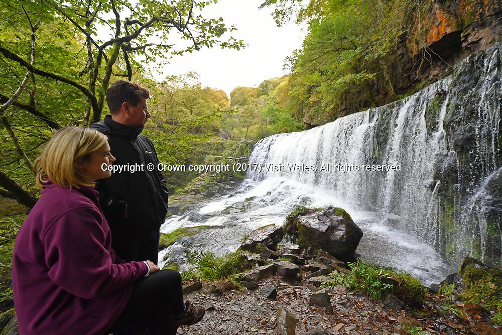 Sgwd Isaf Clun Gwyn<br /> Brecon<br /> South Wales<br /> <br /> Wales News Service