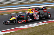 13.10.2012. Yeongman, South Korea.   FIA Formula One World Championship 2012 Grand Prix of Korea 2 Mark Webber Aus Red Bull Racing motor  Mark Webber qualified on pole with Sebastien Vettel second and Lewis Hamilton third on the grid.