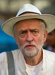 **File picture. Unite union have selected Jeremy Corbyn as their preferrence to be the next Labour Party leader**© London News Pictures. File pic dated 06/06/2015. London, UK. JEREMY CORBYN leaving the venue.  Current Labour Leadership candidates attend a debate at the Fabien Society Conference. All five declared candidates will address the annual conference of the GMB union, in Dublin today (Tues). Photo credit: Ben Cawthra/LNP