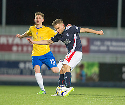 Falkirk's John Baird. <br /> Falkirk 1 v 0 Cowdenbeath, Scottish Championship game played 31/3/2015 at The Falkirk Stadium.