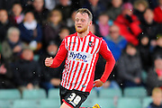 Exeter City's Jake Taylor during the Sky Bet League 2 match between Yeovil Town and Exeter City at Huish Park, Yeovil, England on 9 April 2016. Photo by Graham Hunt.