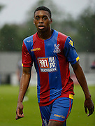 Aaron Bissaka in action during the Pre-Season Friendly match between Tooting & Mitcham and Crystal Palace at Imperial Fields, Tooting, United Kingdom on 24 July 2015. Photo by Michael Hulf.