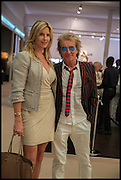 ROD STEWART; PENNY LANCASTER, Masterpiece London 2014 Preview. The Royal Hospital, Chelsea. London. 25 June 2014.