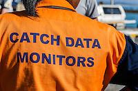 Fisheries catch data monitors, Struisbaai, Western Cape, South Africa
