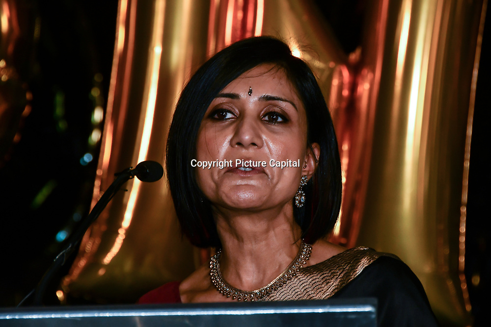 Sina Patel attend Awareness gala hosted by the Health Committee with live music and poetry performances at City Hall at The Queen's Walk, London, UK. 18 March 2019.