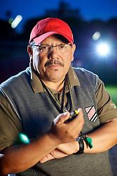 """O  diretor-técnico da CBAt e técnico de atletismo, José Haroldo Loureiro Gomes - o """"Arataca"""". FOTO: Jefferson Bernardes/Preview.com"""