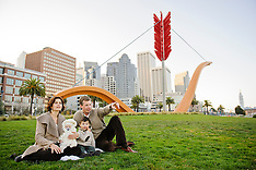 Heath Family Portraits | Rincon Park Cupids Bow Ferry Building San Francisco