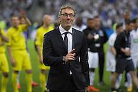 Joie Laurent Blanc - 30.05.2015 - Auxerre / Paris Saint Germain - Finale Coupe de France<br />Photo : Andre Ferreira / Icon Sport