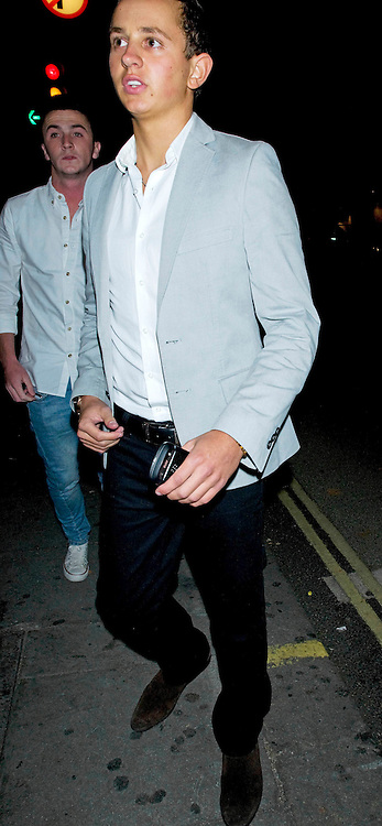 14.SEPTEMBER.2011. LONDON<br /> <br /> GEORGE LINEKER LEAVE THE AURA CLUB IN MAYFAIR, IN LONDON<br /> <br /> BYLINE: EDBIMAGEARCHIVE.COM<br /> <br /> *THIS IMAGE IS STRICTLY FOR UK NEWSPAPERS AND MAGAZINES ONLY*<br /> *FOR WORLD WIDE SALES AND WEB USE PLEASE CONTACT EDBIMAGEARCHIVE - 0208 954 5968*