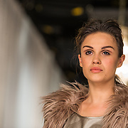 NLD/Amsterdam/20140615 - Opname aflevering Holland Next Top Model 2014, Holly Mae Brood