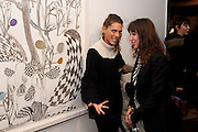 JESSICA DRAPER; ANNIE MORRIS;   There is a Land Called Loss | Annie Morris | Pertwee Andersen and Gold, in association with Adam Waymouth Art , Private View, 15 bateman st. W1 2nd February 2012