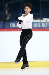 04.12.2015, Dom Sportova, Zagreb, CRO, ISU, Golden Spin of Zagreb, freies Programm, Herren, im Bild Kwun Hung Leung, Hong Kong. // during the 48th Golden Spin of Zagreb 2015 men Free Program of ISU at the Dom Sportova in Zagreb, Croatia on 2015/12/04. EXPA Pictures © 2015, PhotoCredit: EXPA/ Pixsell/ Igor Kralj<br /> <br /> *****ATTENTION - for AUT, SLO, SUI, SWE, ITA, FRA only*****