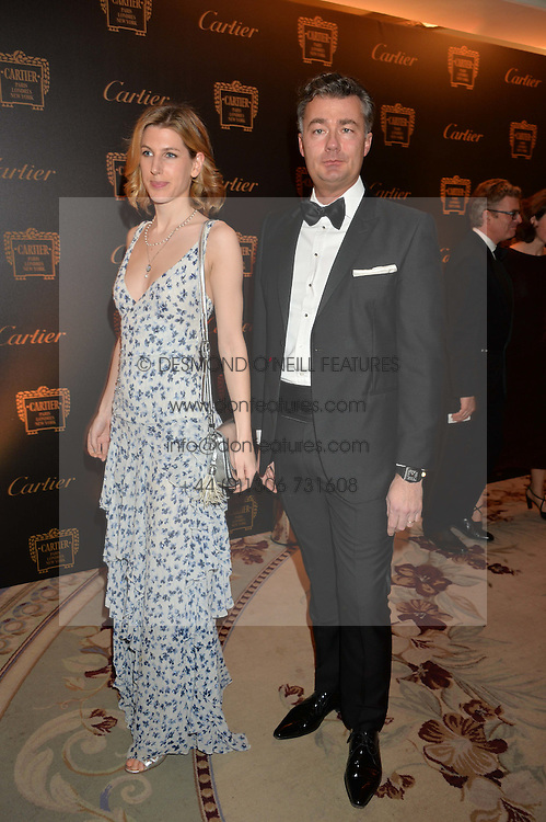 SUSANNA WARREN and LAURENT FENIOUat the 26th Cartier Racing Awards held at The Dorchester, Park Lane, London on 8th November 2016.