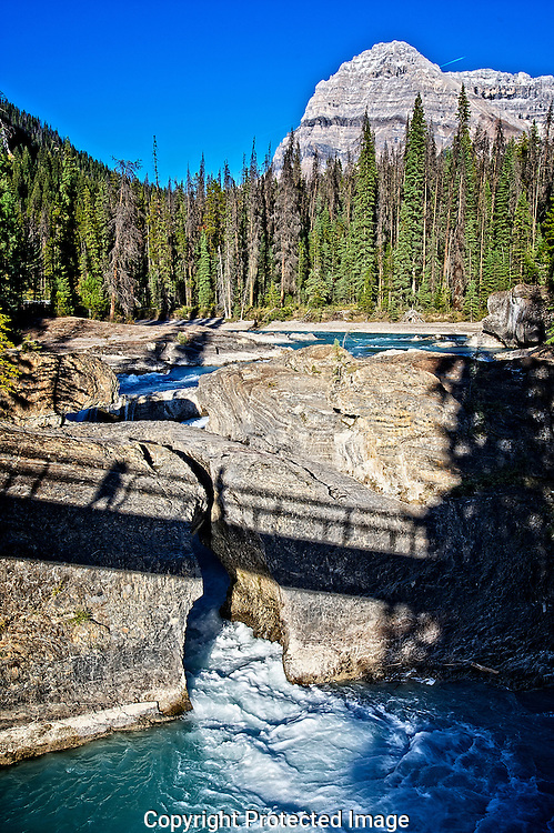 Natural Bridge in Yoho Nat'l Park., British Columbia, canada, Isobel Springett