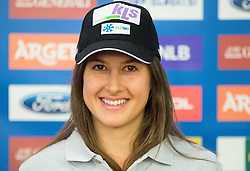 Tina Robnik during official presentation of the outfits of the Slovenian Ski Teams before new season 2015/16, on October 6, 2015 in Kulinarika Jezersek, Sora, Slovenia. Photo by Vid Ponikvar / Sportida
