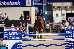 Serrano Saez Ivan, ESP, Tam Tam du Valon<br /> European Championship Jumping<br /> Rotterdam 2019<br /> © Dirk Caremans<br /> Serrano Saez Ivan, ESP, Tam Tam du Valon
