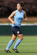 25 April 2008: Stephanie Lopez Cox. The United States Women's National Team held a training session in WakeMed Stadium, formerly SAS Stadium, in Cary, NC.