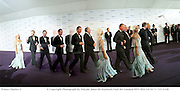 Donatella Versace and Prince Charles arriving De Beers & Versace co-host Diamonds are Forever: Millenium Celebration. 9 June 1999.<br /> © Copyright Photograph by Dafydd Jones 66 Stockwell Park Rd. London SW9 0DA Tel 0171 733 0108