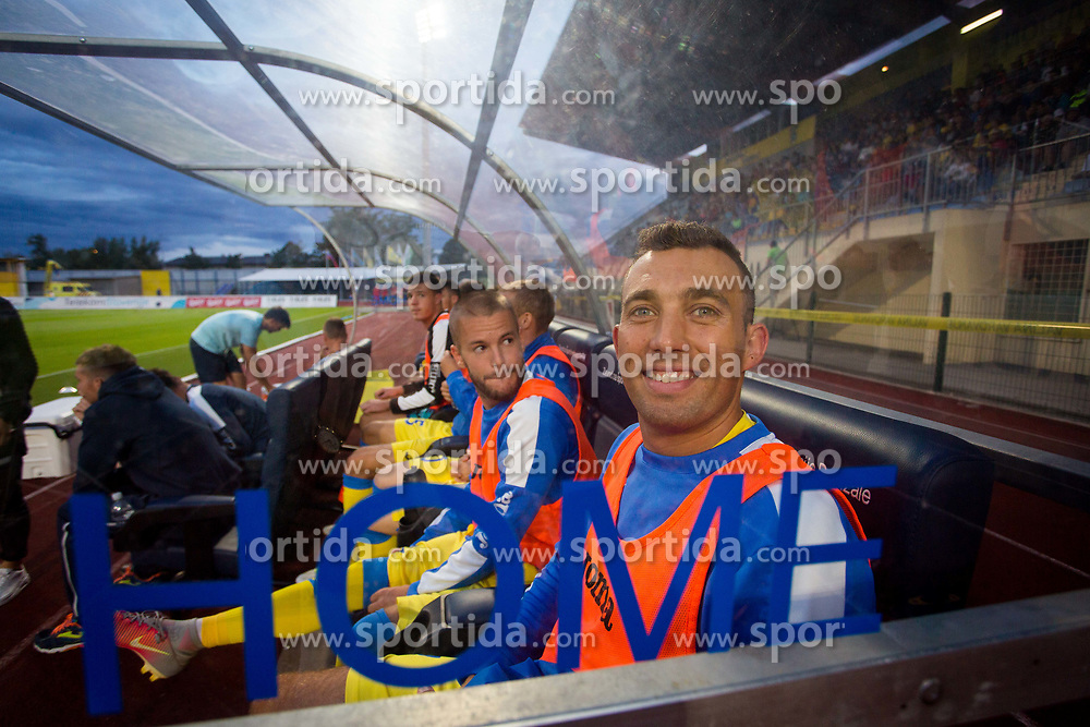 Ivan Firer of NK Domzale during football match between NK Domžale and NK Aluminij in 6th Round of Prva liga Telekom Slovenije 2017/18, on August 20, 2017 in Sports park Domzale, Domzale. Photo by Ziga Zupan / Sportida