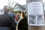 A missing person sign for Matthew Straton is posted across the street from 27 Rowley Street in Rochester, where a body - believed to be that of Straton - was discovered on Thursday, January 16, 2014. Straton has been missing since October, and police notified his family late Wednesday that the body may be his, though no public statement has been made about the identity of the victim. The body was later identified as that of Matthew Straton, 32, who had been missing since October 2013. Dr. William Lewek, 63, a psychiatrist who saw patients at the home on Rowley Street, was convicted of tampering with physical evidence for hiding the body in the backyard, and sentenced to the maximum of up to four years in prison.