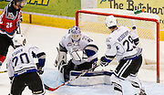 The Victoria Royals versus the Kelowna Rockets in Game thee or their second round WHL playoff series April 14, 2015 at the Save-on-Foods Memorial centre in Victoria B.C. Canada.