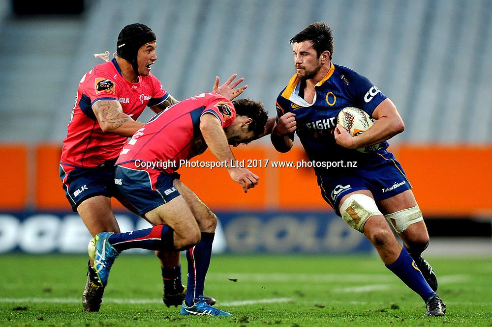 Adam Knight of Otago. Otago v Tasman. Mitre 10 Cup Championship Rugby Union. Forsyth Barr Stadium, Dunedin, New Zealand. 16 September 2017. Copyright Image: Joe Allison / www.photosport.nz